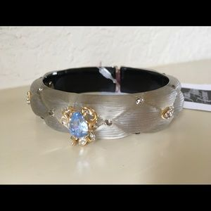 $345 Alexis Bittar Grey Gardens Lucite Bracelet